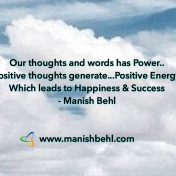 Power of Thoughts and Words