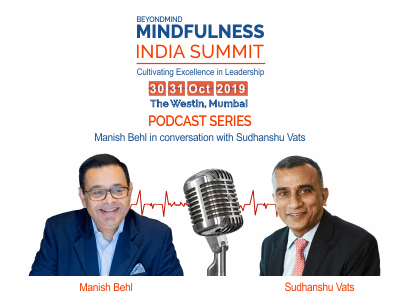 Mr.Manish Behl in conversation with Mr.Sudhanshu Vats CEO VIACOM 18