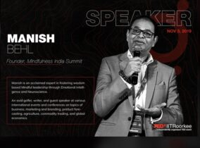 Manish Behl TEDx talk at IIT Roorkee – What is Mindfulness